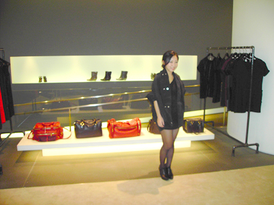 Me in the store, wearing swacket