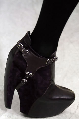Balenciaga 2006 Fall: Winter Black Harness Boots