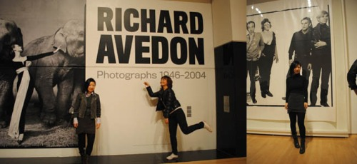 Richard Avedon's show in SOMA