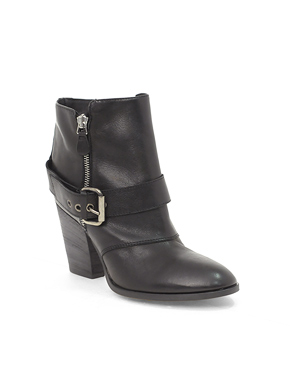 $280.45 Pied A Terre Oceanside Buckle Ankle Boot