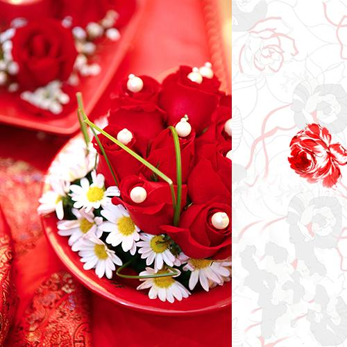 Red Chinese wedding